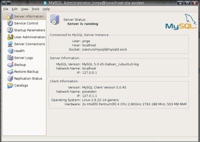 Instalar MySQL en Linux Ubuntu Gutsy Gibbon